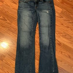 American Eagle Slim Boot Stretch size 8 Jeans